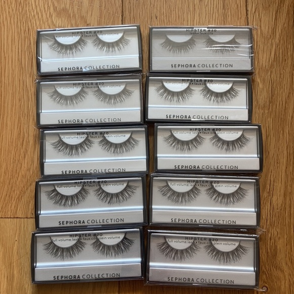 🆕 Sephora Collection lashes bundle of 10